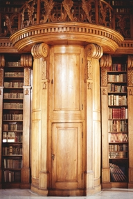 A beautiful portal through books, from Hungary